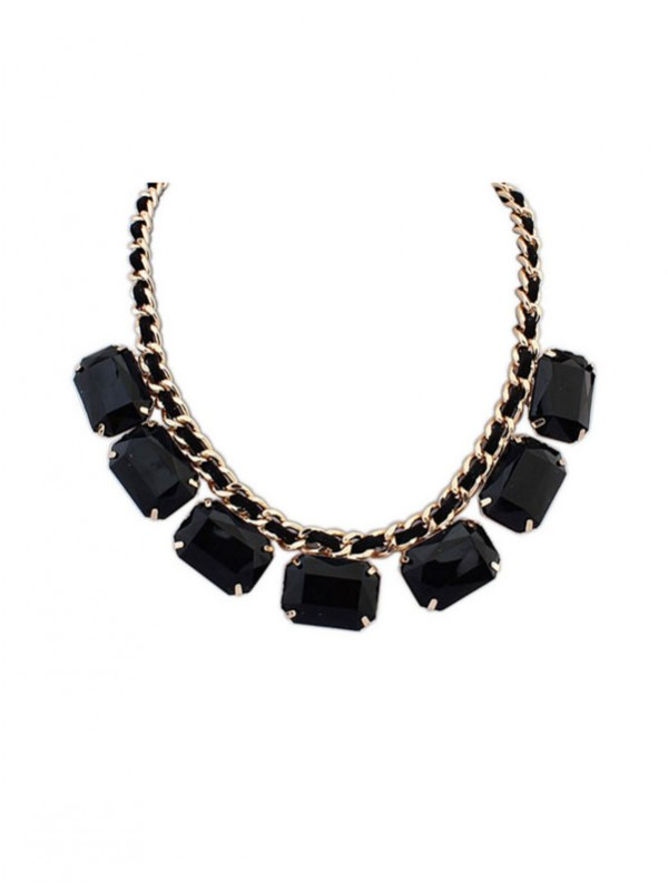 Latest Occident Simple Blocks All-match New Hot Sale Necklace