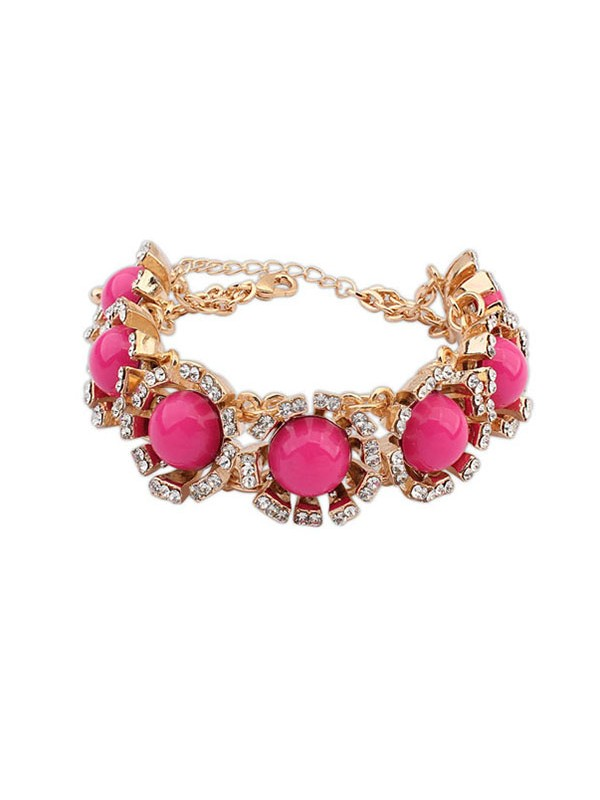 Latest Occident New Street Shooting Collision Color Hot Sale Bracelets