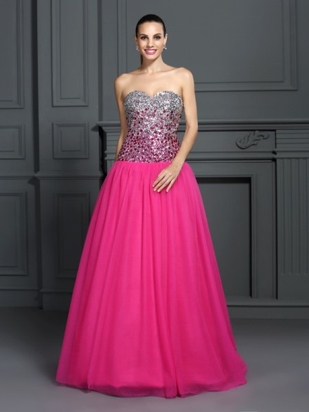 Sweetheart Organza Ball Gown Quinceanera Prom Dresses