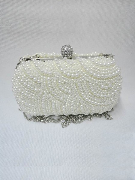 Fashion Pearls Evening Handbags