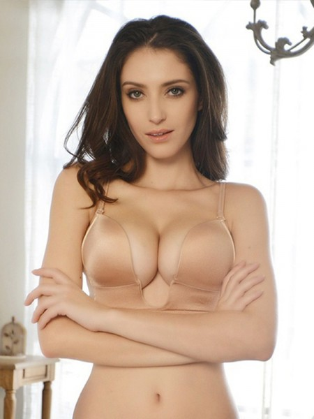 Cotton Strapless Invisible Bra