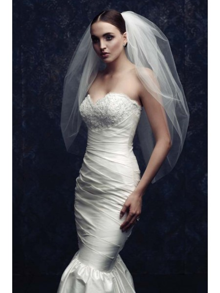 Fashion Elegant Tulle Wedding Veils