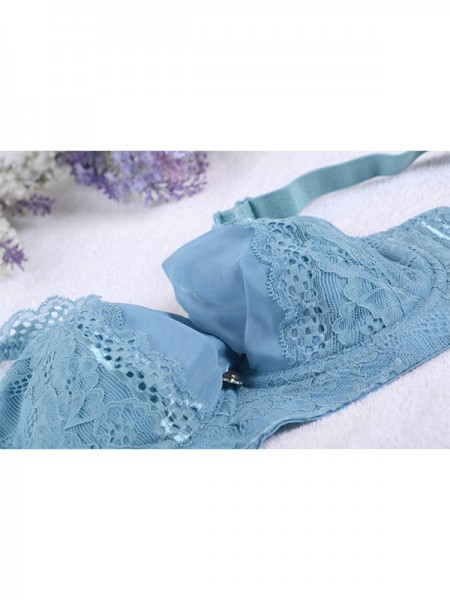 Gorgeous Tulle Lace Push Up Bras