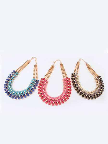 Latest Occident Stylish Retro multi-layered all-match Hot Sale Necklace