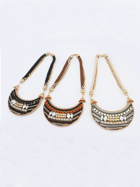 Latest Occident Exotic woven Retro Hot Sale Necklace