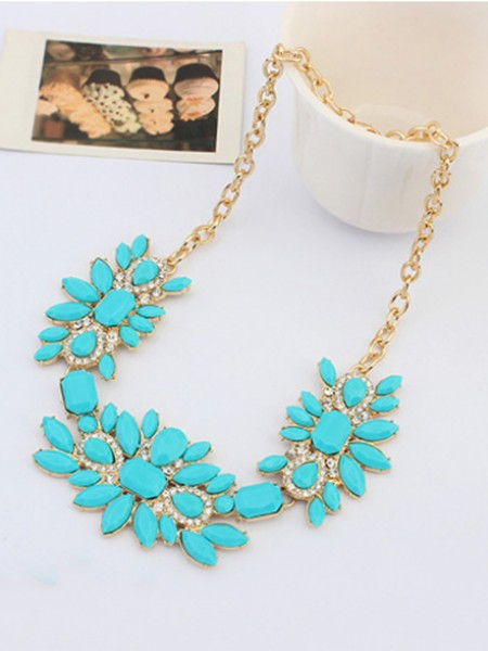 Latest Occident Stylish Sweet Fresh and all-match Hot Sale Necklace