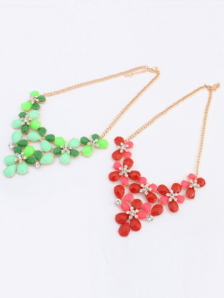 Latest Occident New Butterfly Flowers Bohemia Hot Sale Necklace