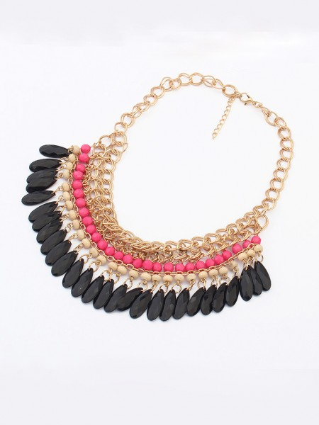 Latest Occident Bohemia Elegant Water drop Hot Sale Necklace