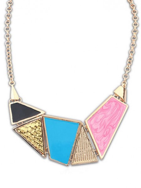 Latest Occident Stylish Street shooting Hot Sale Drop of oil Necklace