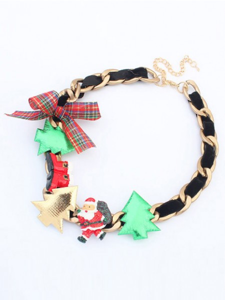 Latest Occident Personality Christmas Series Hot Sale Necklace