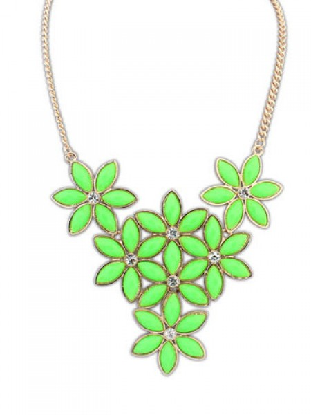 Latest Occident Stylish New Flowers all-match Hot Sale Necklace