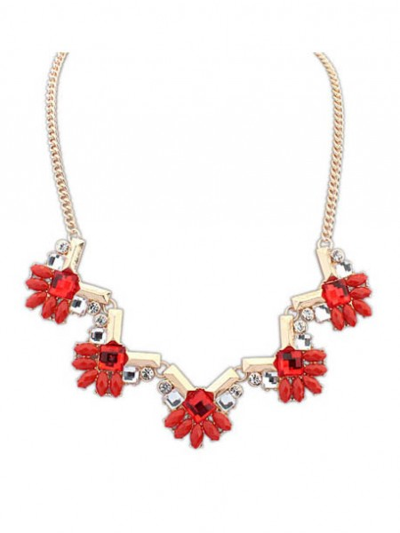 Latest Occident New Stylish Geometry all-match Hot Sale Necklace