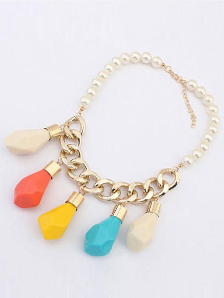 Latest Occident Trendy Street shooting Personality Hot Sale Necklace