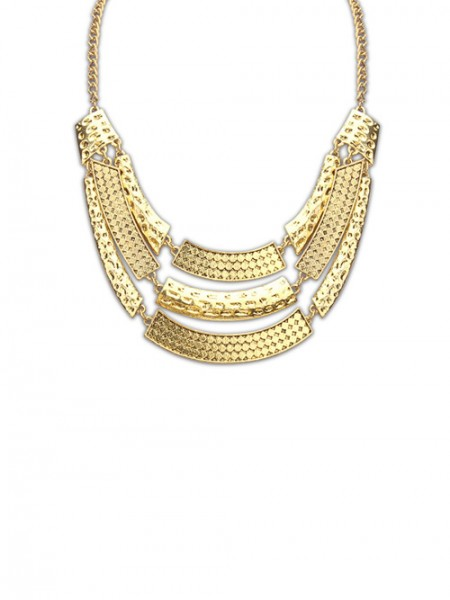 Latest Occident Major Suit Street Shooting Metallic Personality Hot Sale Necklace