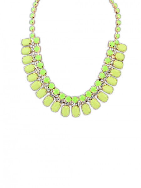 Latest Occident Elegant Stylish all-match Blocks Hot Sale Necklace