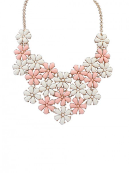 Latest Occident Blooming Fresh Floret Hot Sale Necklace