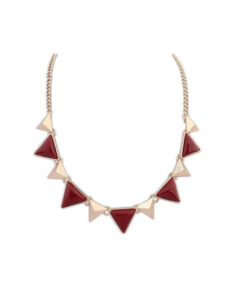 Latest Occident Retro Punk Geometry Triangle Hot Sale Necklace