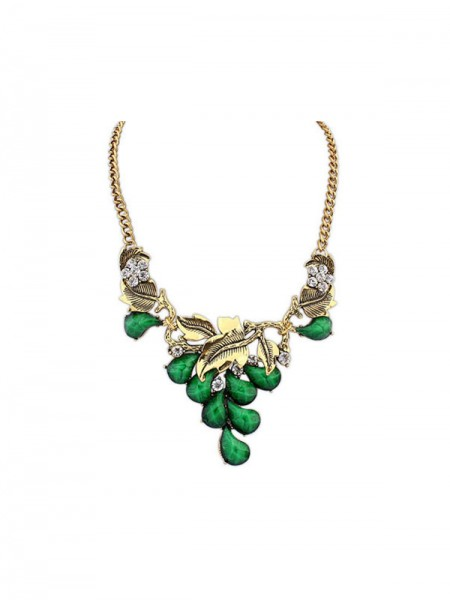 Latest Occident Bohemia Willow Hot Sale Necklace