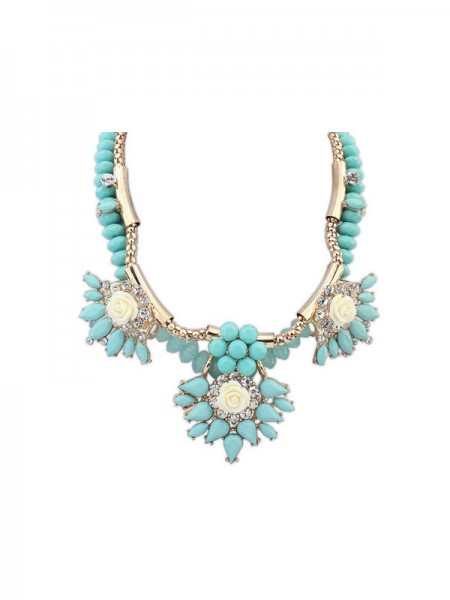 Latest Occident Trendy Fashionable Hyperbolic Hot Sale Necklace