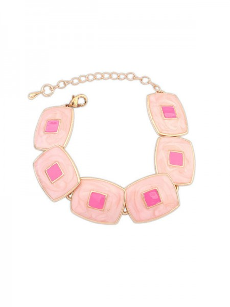 Latest Occident Fashionable Elegant Blocks Temperament Hot Sale Bracelets