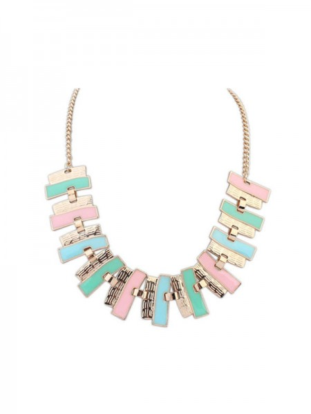 Latest Occident New Fashionable Geometry Simple Hot Sale Necklace
