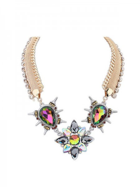 Latest Occident Personality Punk Hyperbolic Hot Sale Necklace