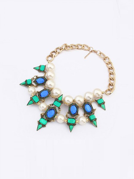 Latest Occident Celebrity Street Shooting Fashionable Hot Sale Necklace