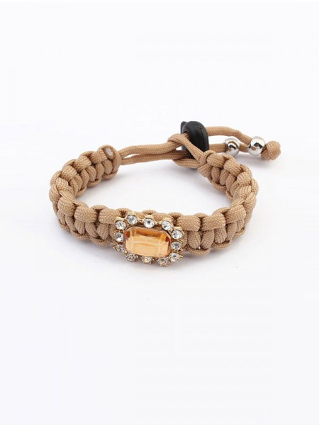Latest Occident All-match Woven Concise Hot Sale Bracelets