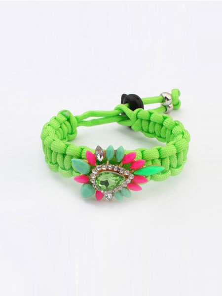 Latest Occident Ethnic Customs Woven Colorful Hot Sale Bracelets