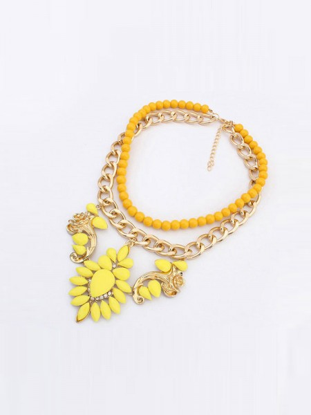 Latest Occident New Trendy Street Shooting Hot Sale Necklace