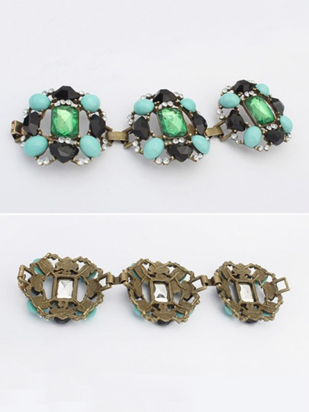 Latest Occident Stylish Emeralds Luxurious Hot Sale Bracelets
