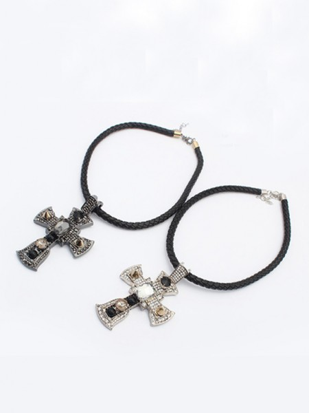 Latest Occident Punk Retro Cross Hot Sale Necklace