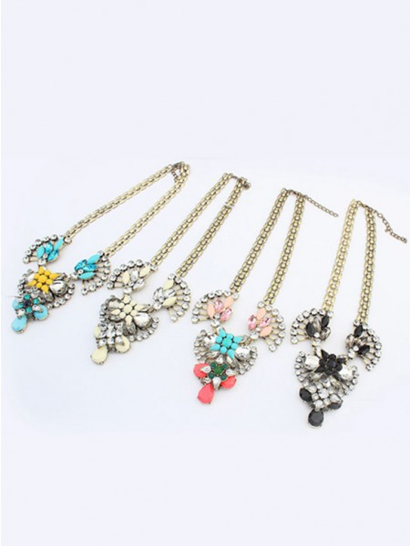 Latest Occident Major suit Retro Hyperbolic Personality Hot Sale Necklace