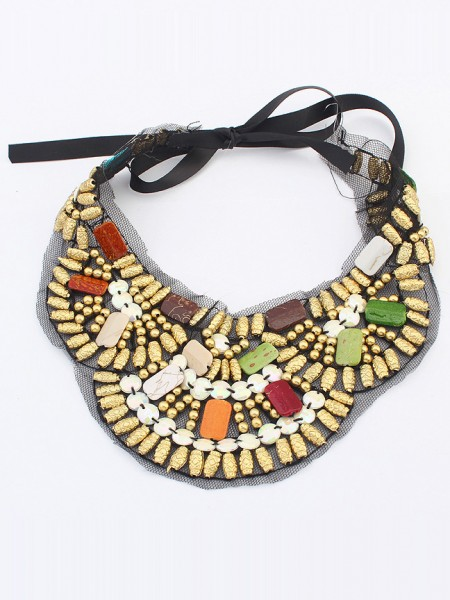 Latest Occident Bohemia Ethnic customs Hot Sale Necklace - D