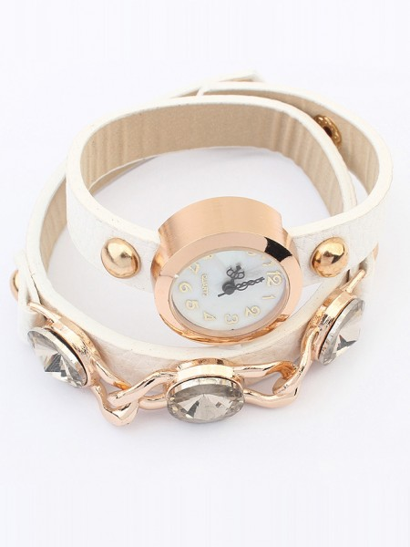 Latest Occident Stylish Trendy Retro Hot Sale Bracelet Watch