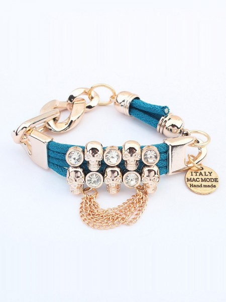 Latest Occident Punk Hyperbolic Skull Hot Sale Bracelets