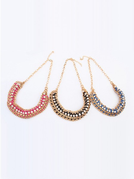 Latest Occident Stylish New Trendy Punk Hot Sale Necklace