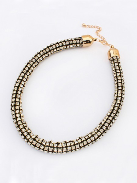 Latest Occident Hyperbolic Major suit Flash drilling Hot Sale Necklace