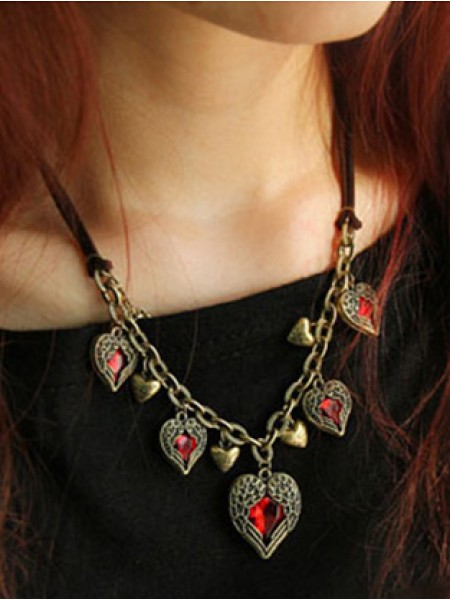 Latest Occident Retro Exquisite Angel Heart Stylish Hot Sale Necklace