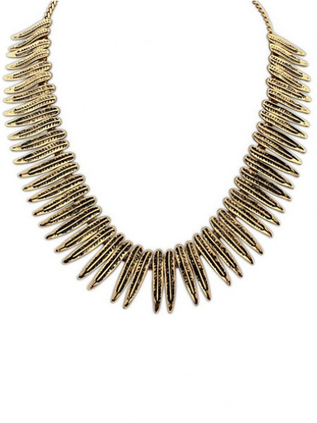Latest Occident Hyperbolic Punk Personality Metallic Hot Sale Necklace