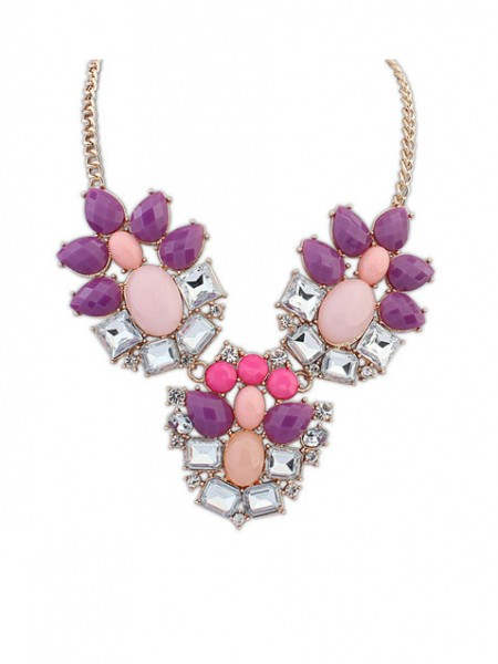 Latest Occident Stylish Simple Geometry Exquisite Hot Sale Necklace