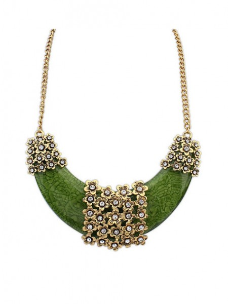 Latest Occident Retro Exotic Style Hyperbolic Hot Sale Necklace