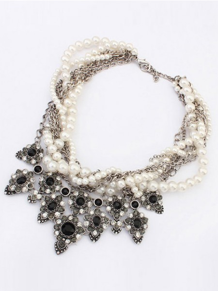 Latest Occident Major suit Personality Hyperbolic Hot Sale Necklace