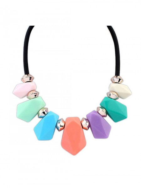 Latest Occident Street shooting all-match Geometry Temperament Hot Sale Necklace