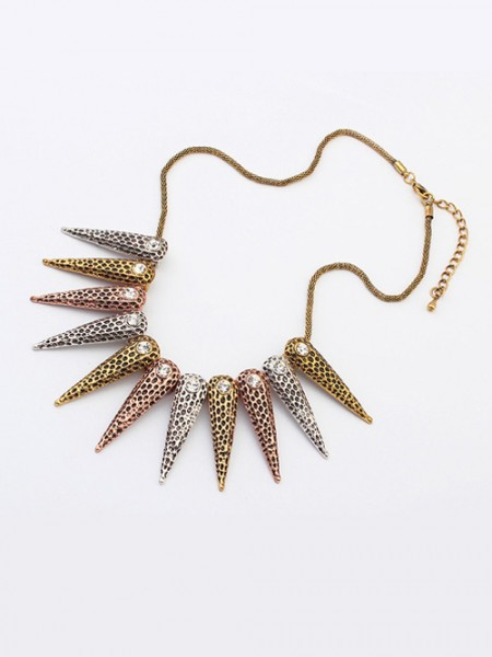 Latest Occident Hyperbolic Exotic Punk Conical Hot Sale Necklace