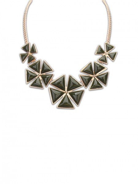 Latest Occident Bohemia Five Petal Hot Sale Necklace