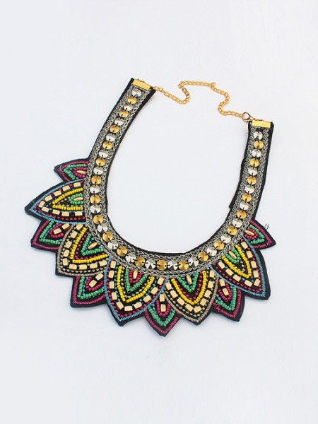 Latest Occident Hyperbolic Ethnic Personality Hot Sale Necklace