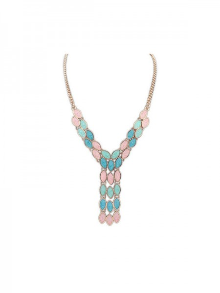 Latest Occident Bohemia Tassels Hot Sale Necklace