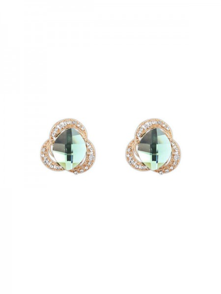 Latest Occident Three Flowers Bohemia Customs Stud Hot Sale Earrings