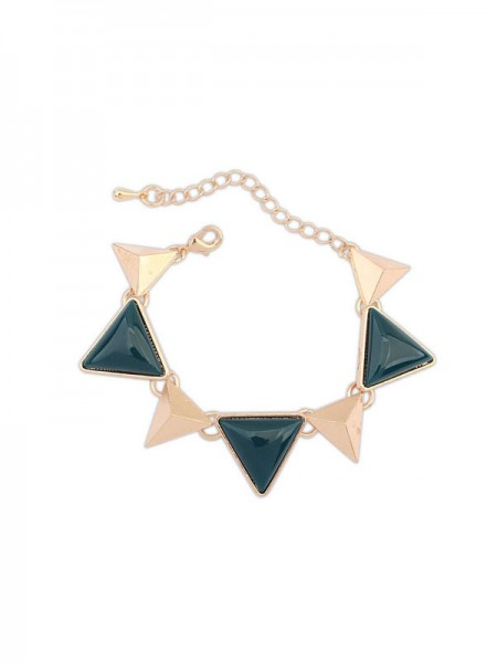 Latest Occident Retro Punk Geometry Triangle Hot Sale Bracelets
